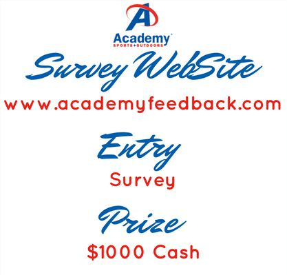 acadamy survey rewards