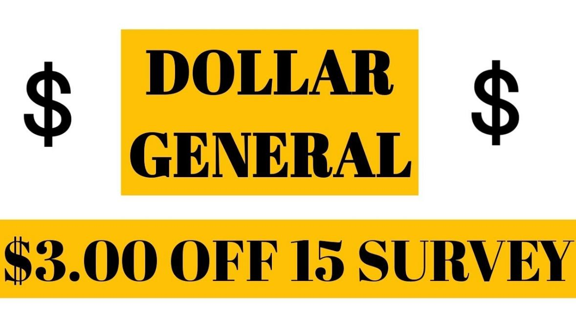 dollar general survey reward