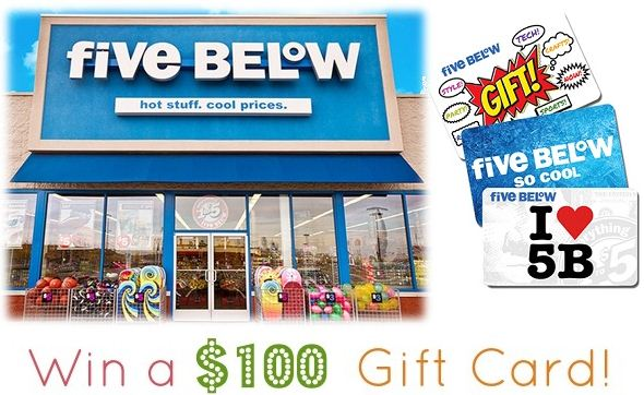five below survey rewards
