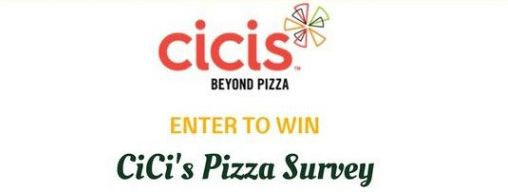 Cici's Pizza Survey code guide