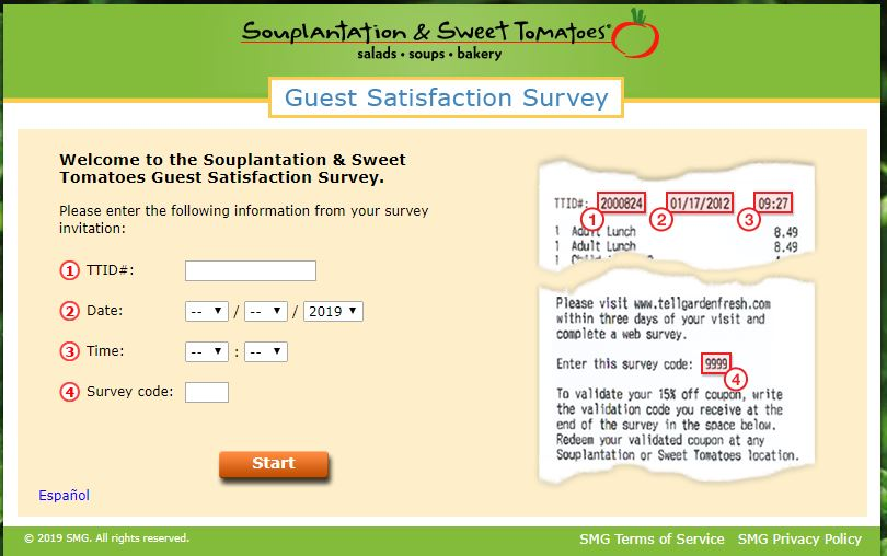Souplantation & Sweet Tomatoes Guest Satisfaction Survey ...