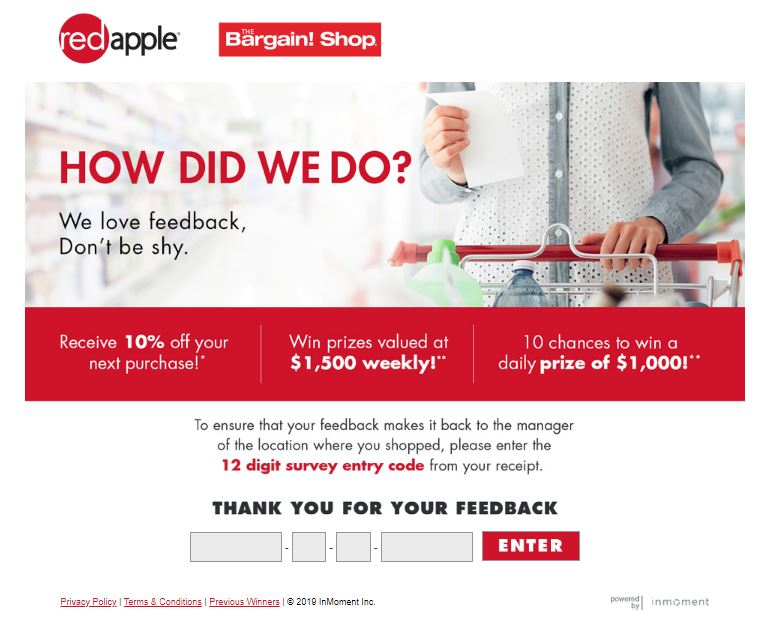 Bargain Shop Listens Survey: Win $1000 daily and $1500 weekly ...