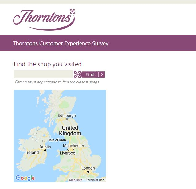 Thorntons Customer Experience Survey - survey.thorntons.co.uk | 2019