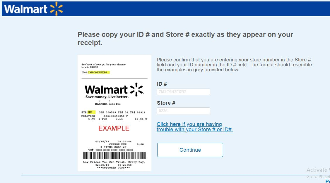 The benefits and drawbacks of the receipt-based Walmart survey ...