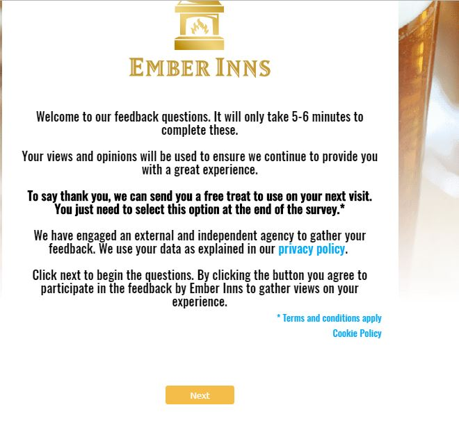 ember inns customer complaints