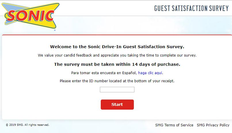 TalktoSonic – FREE Route 44 from Talk to Sonic Survey? Give it a try!