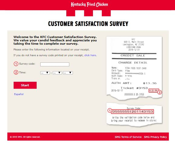 KFC Guest Experience Survey - Welcome