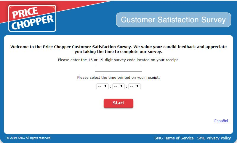 Customer Survey | Price Chopper
