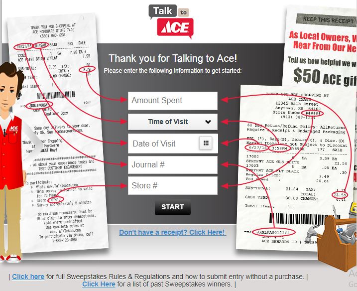 the Westlake Ace Hardware Customer Satisfaction Survey