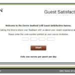 Devon Seafood Grill Guest Satisfaction Survey at www ...