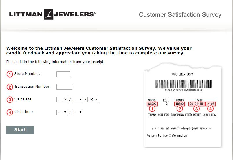 Join Littman Jewelers Customer Satisfaction Survey on E Guides ...