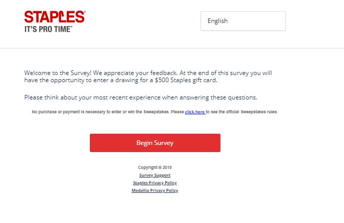 Enter Staples Survey to Win a $500 Gift Card - Save FAQS