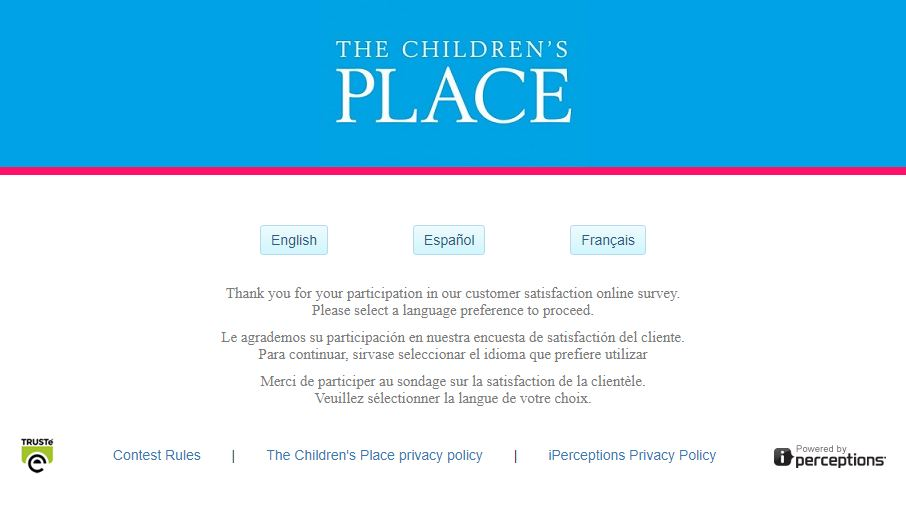PlaceSurvey.com - The Children's Place Survey - Customer Survey ...