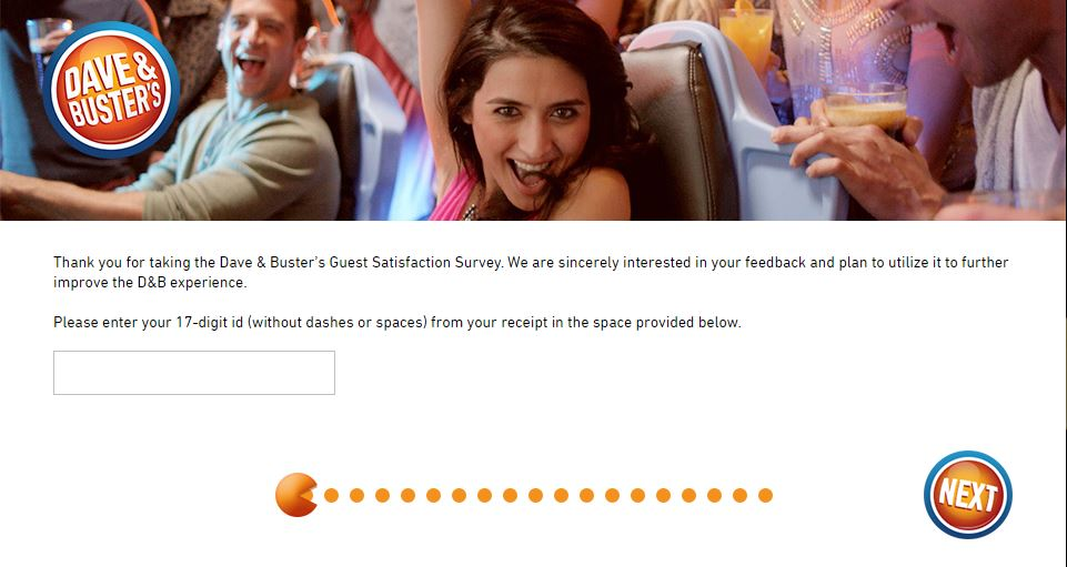 Dave and Buster's Survey