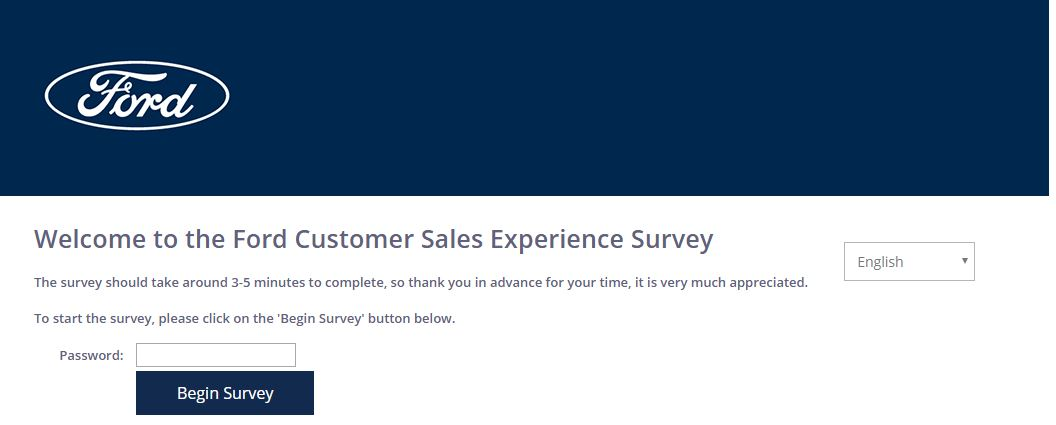 Ford Survey